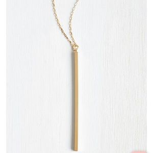ModCloth Key To Simplicity Necklace
